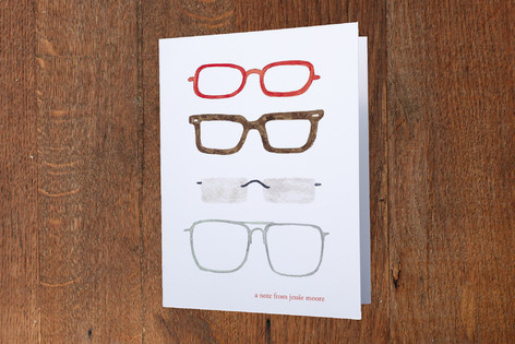 Transitions Folded Personal Stationery