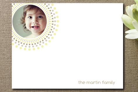 Joyful Bursts Personalized Photo Stationery