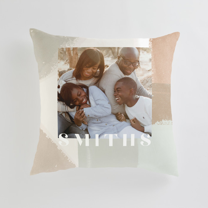 Layered Paint Large 24 Inch Photo Pillow