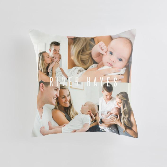 Indie Medium Square Photo Pillow