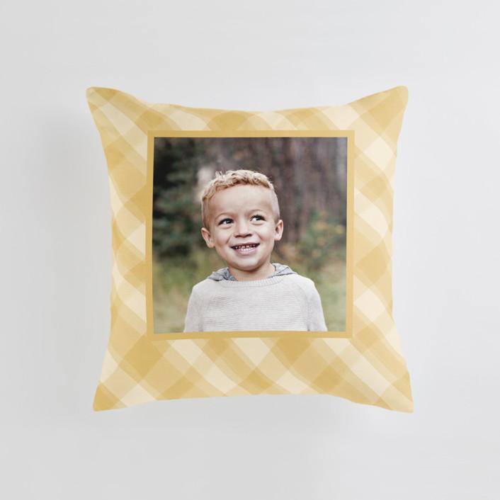 Cadeau Medium Square Photo Pillow