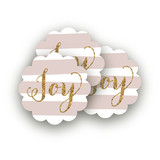 Holiday Bling Scalloped Stickers