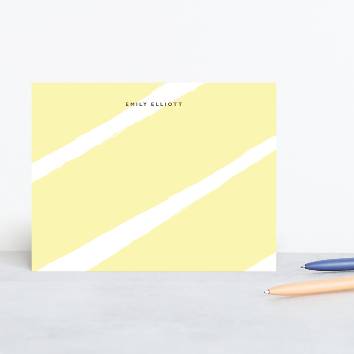 """""""Daydream"""" - Modern Personalized Stationery in Sunlight by Alston Wise."""