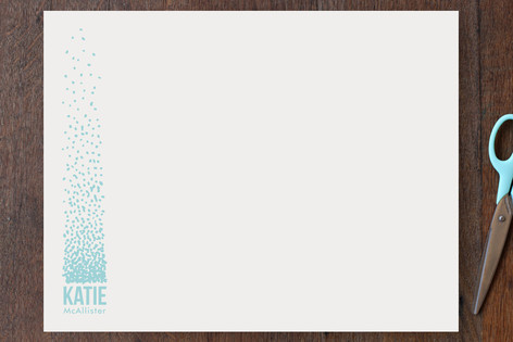 Dotted Personalized Stationery
