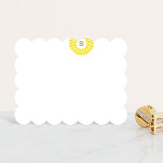 Flower Burst Personalized Stationery