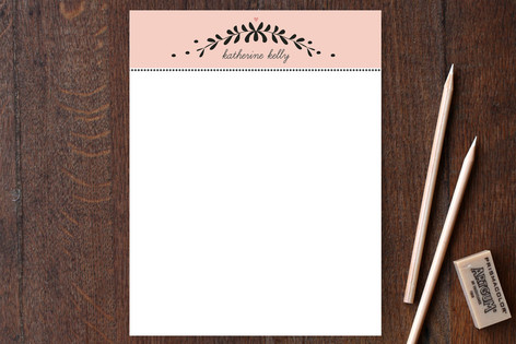 Garland Place Personalized Stationery