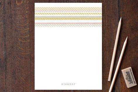 Gypsy Stripe Personalized Stationery