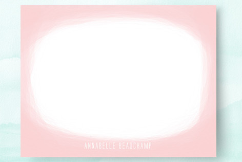 Cotton Candy Personalized Stationery