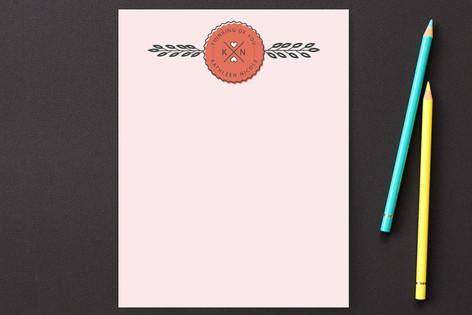 Thinking of You Badge Personalized Stationery