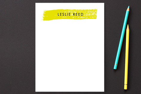 The Translucent Personalized Stationery