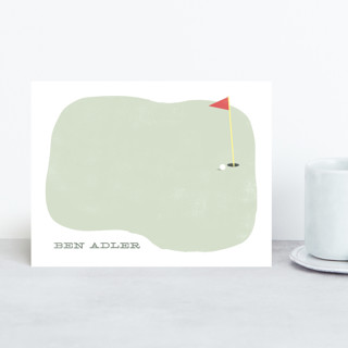 On the Green Personalized Stationery