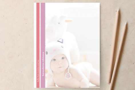 Lamb's Ears Personalized Stationery