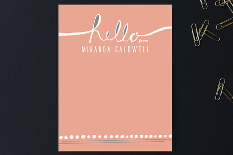 Hello, You... Personalized Stationery