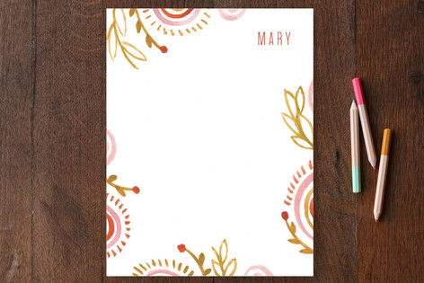 Miss Mary Personalized Stationery