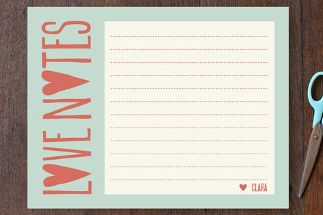 From the Heart Personalized Stationery