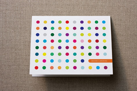 Candy Buttons Personalized Stationery