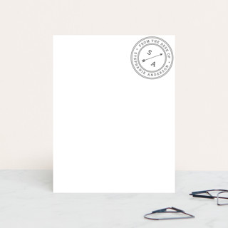 Self Stamped Personalized Stationery