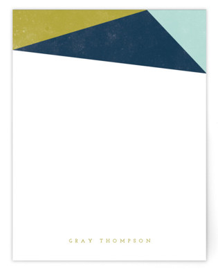 Simple Abstract Personalized Stationery