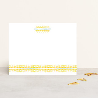lovely swirls Personalized Stationery
