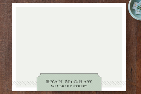 mcgraw Personalized Stationery