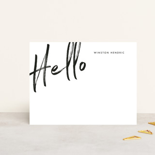 Big Hello Personalized Stationery
