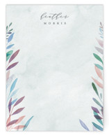 This is a green mothers day gifts stationery by Everett Paper Goods called Spring Rain with standard printing on signature.