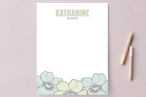 Spruce Personalized Stationery