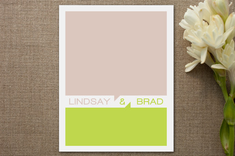 He Says, She Says Personalized Stationery