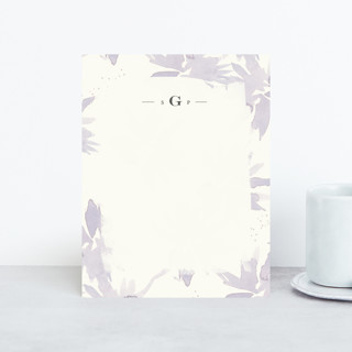Pretty Florals Personalized Stationery