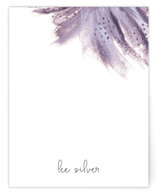 This is a purple mothers day gifts stationery by Simona Camp called Shining Statement with standard printing on signature.