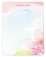 This is a colorful mothers day gifts stationery by Lindsay Megahed called Watercolor Burst with standard printing on signature.