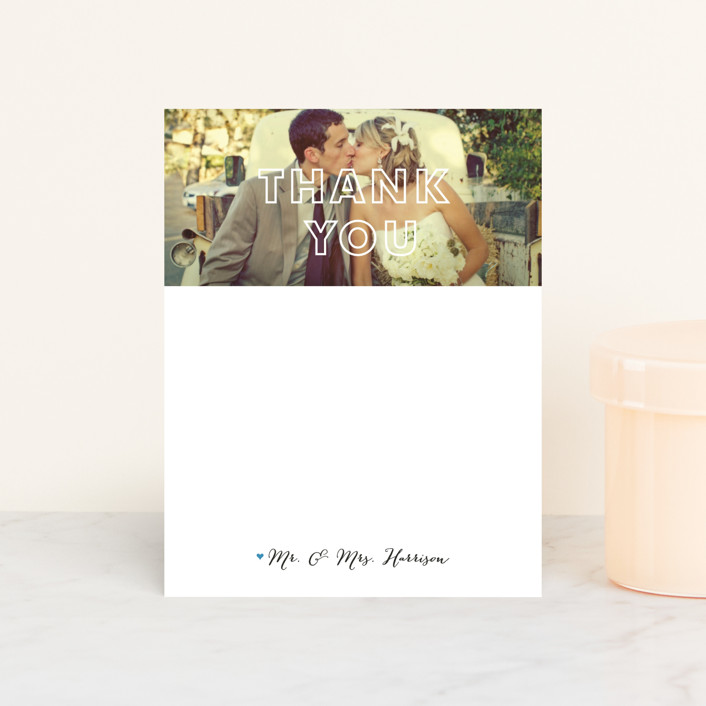 """See Right Through"" - Personalized Stationery in Opal by Susan Brown."