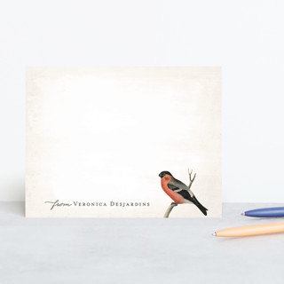 Vintage Bird Personalized Stationery by Hooray Cre... | Minted