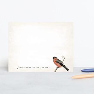 Vintage Bird Personalized Stationery