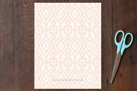 Diamond Wallpaper Personalized Stationery