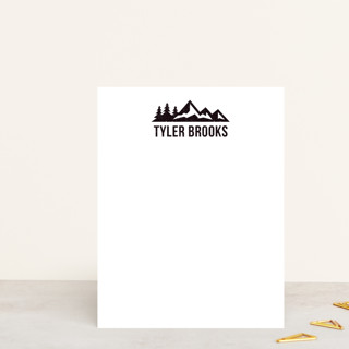 Lost In The Wilderness Personalized Stationery