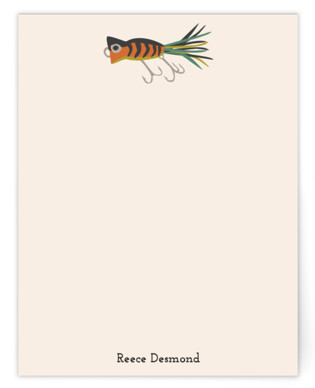 Lure Personalized Stationery