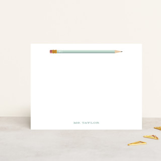 Number 1 Personalized Stationery