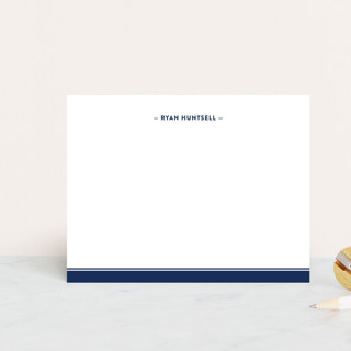 Preppy Stripe Personalized Stationery