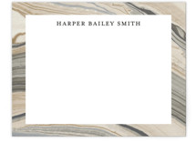 This is a beige mothers day gifts stationery by Liz Conley called Elegant Marble with standard printing on signature.