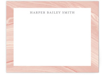 This is a pink mothers day gifts stationery by Liz Conley called Elegant Marble with standard printing on signature.