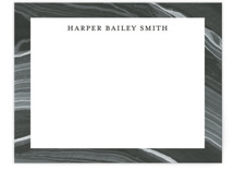 This is a grey mothers day gifts stationery by Liz Conley called Elegant Marble with standard printing on signature.