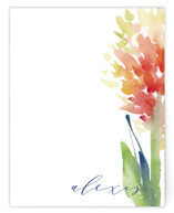 This is a colorful mothers day gifts stationery by sue prue called Big Bloom with standard printing on signature.