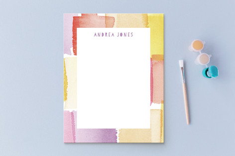 Stained Glass Personalized Stationery