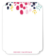 This is a colorful mothers day gifts stationery by Holly Whitcomb called Abstract Floral with standard printing on signature.