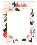 This is a pink mothers day gifts stationery by Susan Moyal called Floral Note with standard printing on signature.