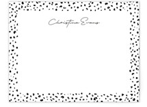 This is a black mothers day gifts stationery by Lea Delaveris called Just a little wild with standard printing on signature.