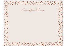 This is a orange mothers day gifts stationery by Lea Delaveris called Just a little wild with standard printing on signature.