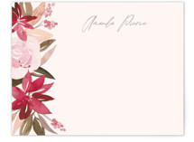 This is a red mothers day gifts stationery by Creo Study called Florista with standard printing on signature.