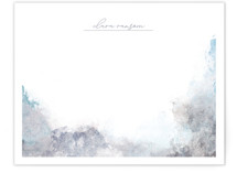This is a white mothers day gifts stationery by Eric Ransom called stormy weather with standard printing on signature.
